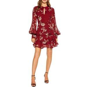 [bardot] tammy trimmed floral dress